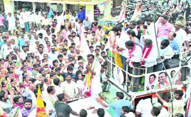 Komatireddy Rajagopal Reddy Campaign In Munugodu - Sakshi