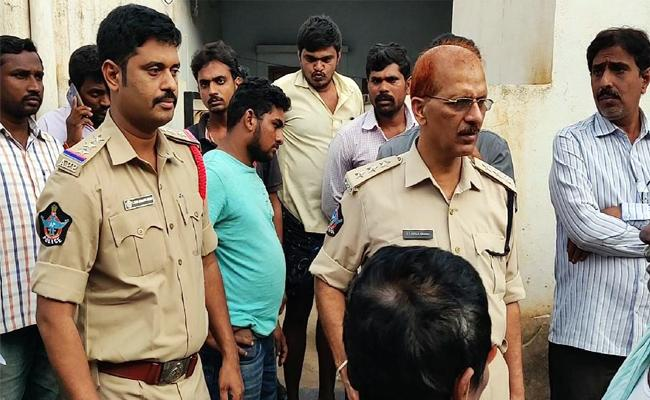 Fake News From Unknown Person Police Checks House  - Sakshi