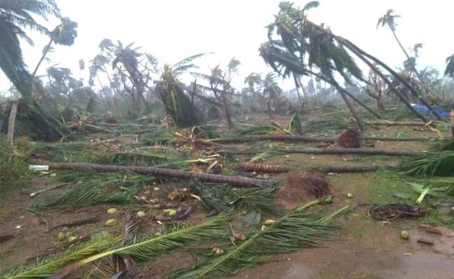 Titli Cyclone, Centre Aid to Andhra Pradesh - Sakshi