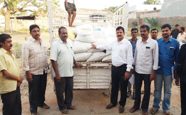 Vigilamnce Officials Raid On Ration Rice Smuggling - Sakshi