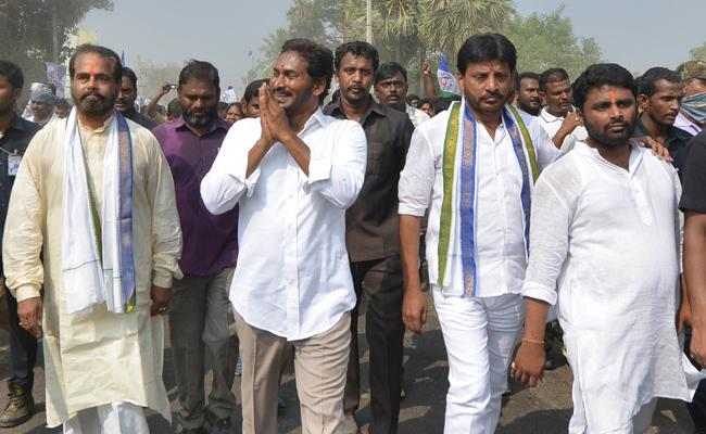 YS jagan 314th Day Praja Sankalpa Yatra Started - Sakshi