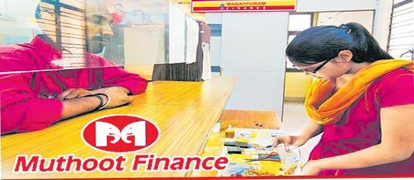 Muthoot Finance has a net profit of Rs 483 crore - Sakshi