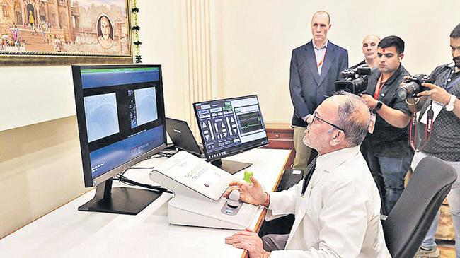 Gujarat: Robot-assisted heart surgery performed on patient from 32 kms away - Sakshi