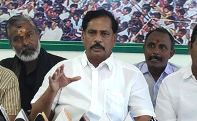 YSRCP MLA Ijaiya Slams Chandrababu Naidu Over Alliance With Congress - Sakshi
