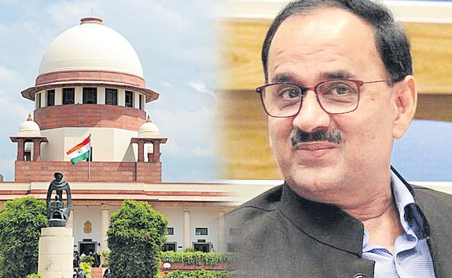 CBI director only on my visiting card, Alok Verma in Supreme Court - Sakshi