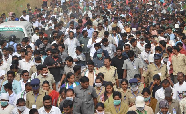 YS Jagan 315th Day Praja Sankalpa Yatra Started - Sakshi