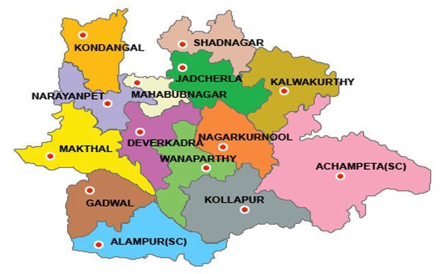 Increasing And Decreasing Votes CountsOf Devarakadra And Palamur - Sakshi