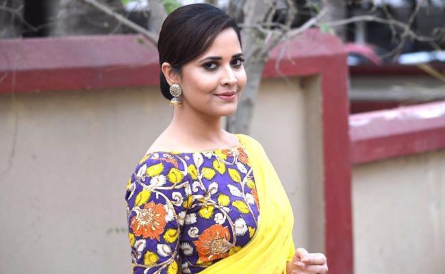 Anasuya's special number in 'F2: Fun and Frustration - Sakshi