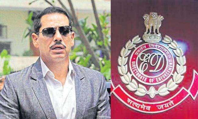 Enforcement Directorate Raids Robert Vadra's Officess - Sakshi