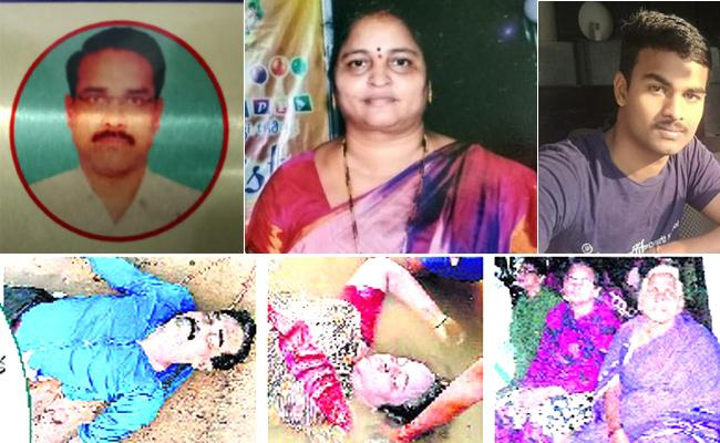 Bank Employee Family Committed Suicide In Rajamahendravaram - Sakshi