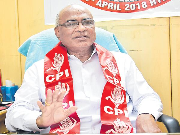 People Front government should be Formed says Chada - Sakshi