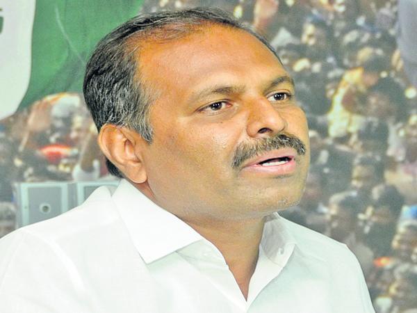 Gadikota Srikanth Reddy fires on Chandrababu - Sakshi