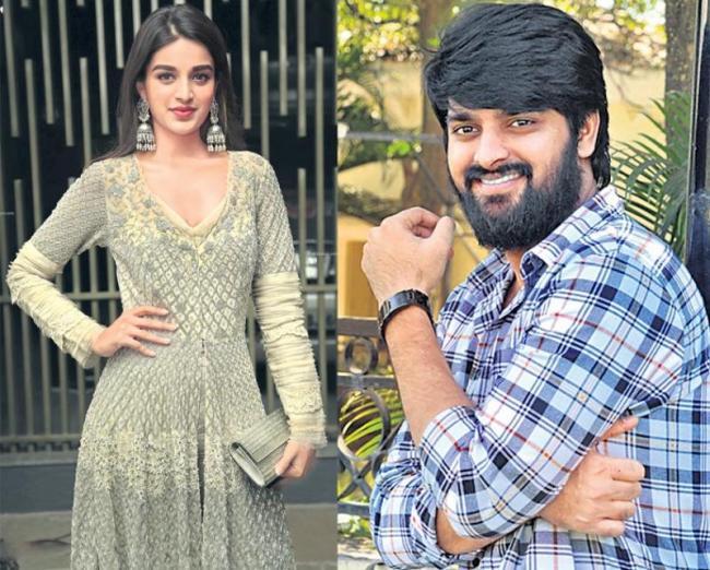 Nidhhi Agerwal romance with Naga Shaurya - Sakshi