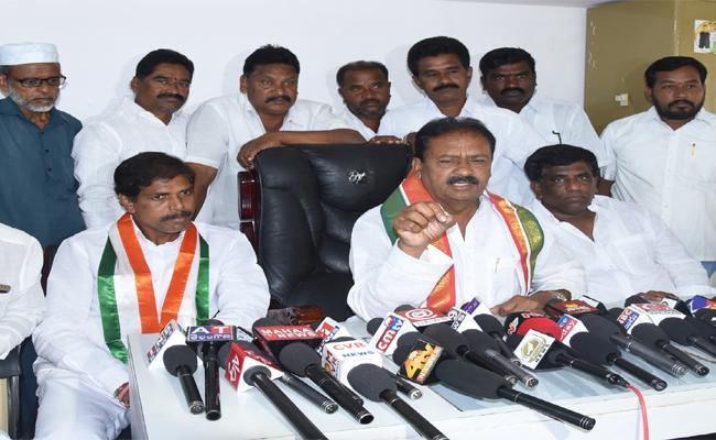Congress Clean Sweep In Nizamabad District Said Shabbir Ali - Sakshi