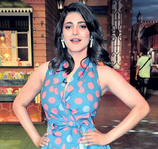 Shruti Haasan to produce 'The Mosquito Philosophy' - Sakshi