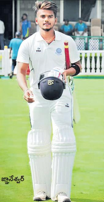 Andhra 207 for 3 in reply to Hyderabad's 271 - Sakshi
