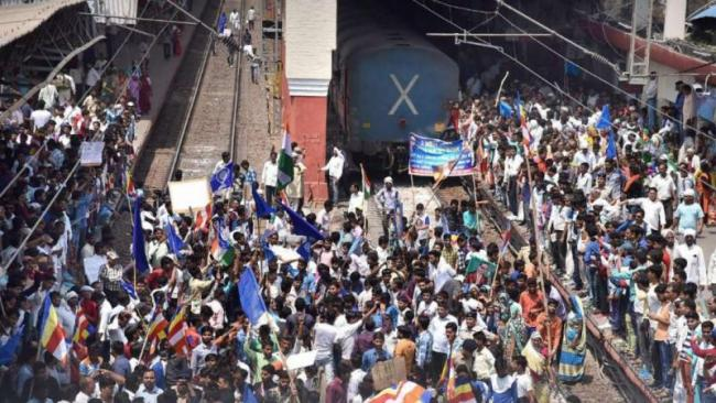 MP Govt Decides To Withdraw Political Cases Filed During Dalit Agitation - Sakshi