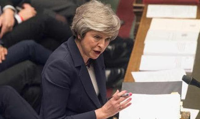 Theresa May Suffered An Early Defeat To Her Brexit Plans - Sakshi
