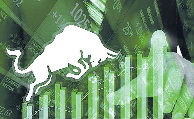 BSE Sensex reclaims 36,000-mark in early trade, Nifty trades above 10,850 in early trade - Sakshi