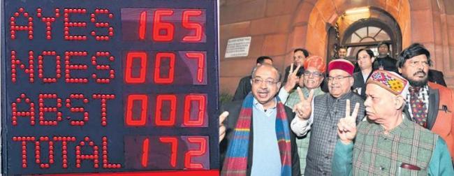 Rajya Sabha Passes EBC Reservation Bill - Sakshi