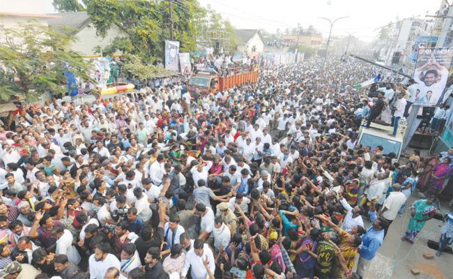 YS Jagan Praja Sankalpa Yatra Srikakulam District - Sakshi
