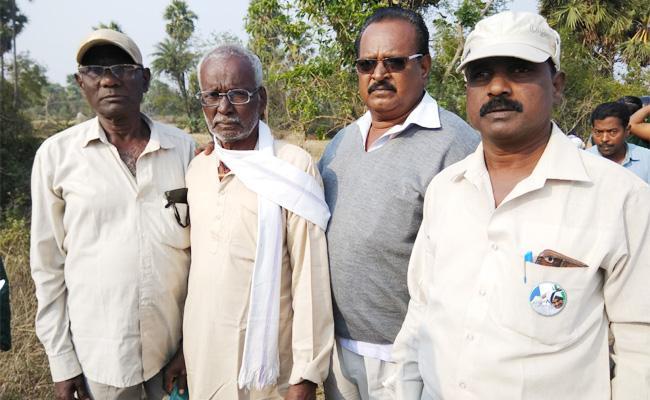 Crop Canals Damaged in Srikakulam - Sakshi