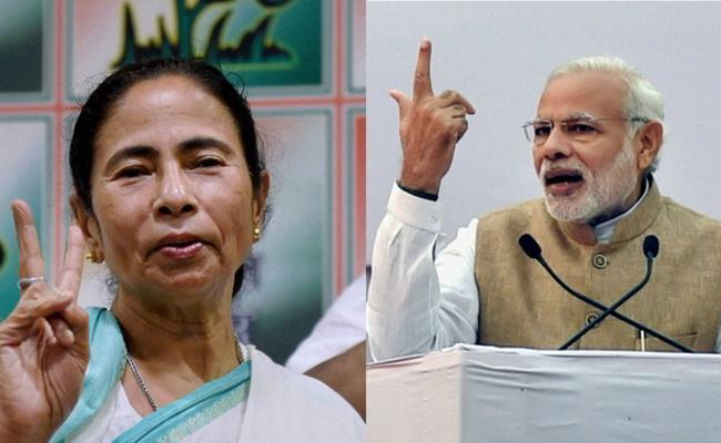 Mamata Banerjee Says PM Narendra Modi cannot speak proper English   - Sakshi