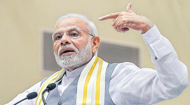 Narendra Modi Says BJP Always Open To Alliances - Sakshi