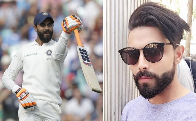 Ravindra Jadeja Gives A Savage Reply In Instagram For A Troll - Sakshi