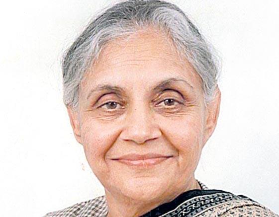Sheila Dikshit appointed Delhi pcc - Sakshi
