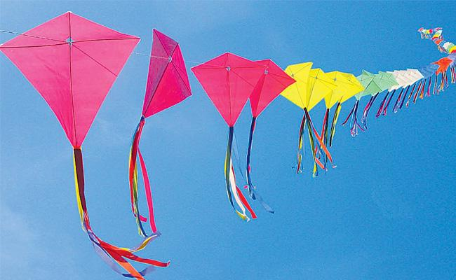 100 Kites Players from 30 countries in hyderabad city - Sakshi