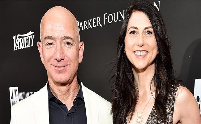 Jeff Bezos Divorce MacKenzie It is The Most Expensive Celebrity Divorce - Sakshi
