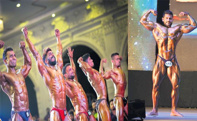 Naresh Surya Classic Fitness Expo in Shamshabad - Sakshi
