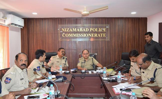 Nizamabad Police Commissioner Talk On Panchayat Elections - Sakshi