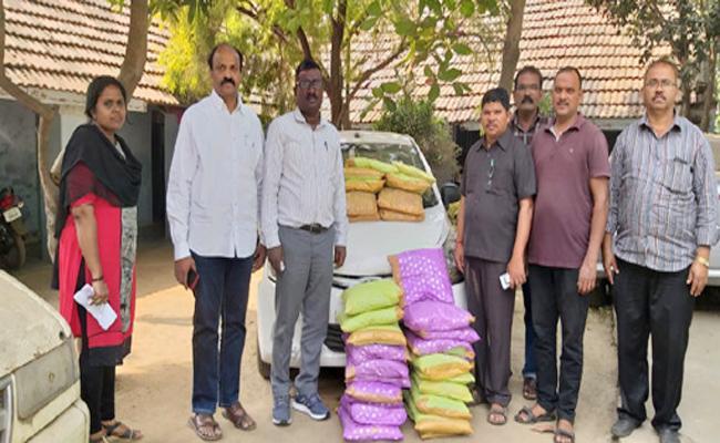 Marijuana Smugglers Arrest in Visakhapatnam - Sakshi