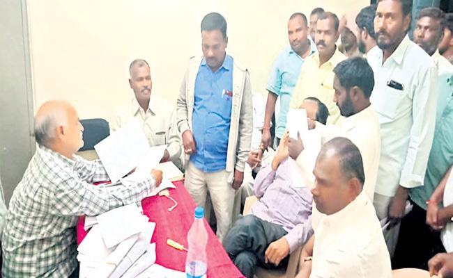 Telangana Panchayat Elections Second Phase Start Rangareddy - Sakshi