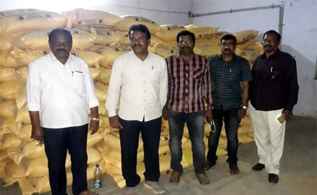 Ration Rice Smuggling Caught in Prakasam - Sakshi