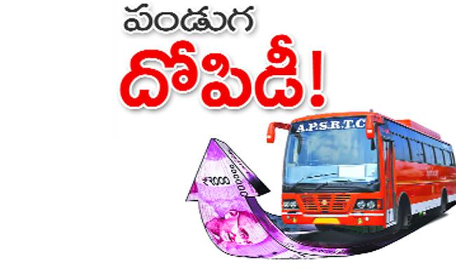 Private Travel Bus Ticket Prices Hikes in Festival Season - Sakshi