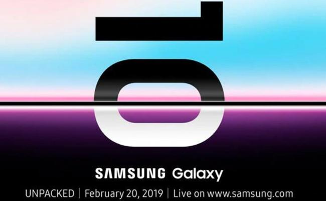 Samsung to launch Galaxy S10 and foldable phones on February 20 - Sakshi