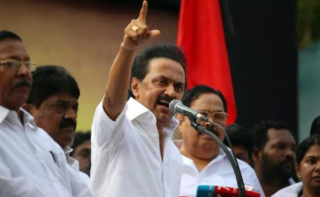 We Not Alliance With BJP Says Stalin - Sakshi