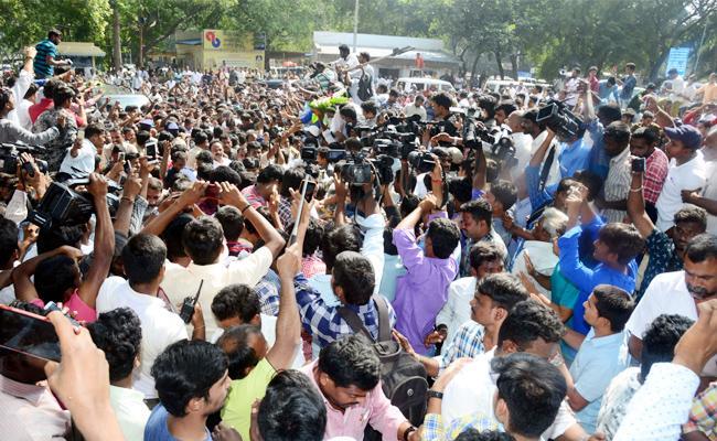 YS Jagan Visit Tirupati Special Story - Sakshi