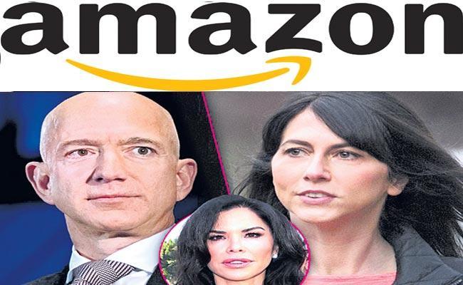 Jeff and MacKenzie Bezos to divorce - Sakshi