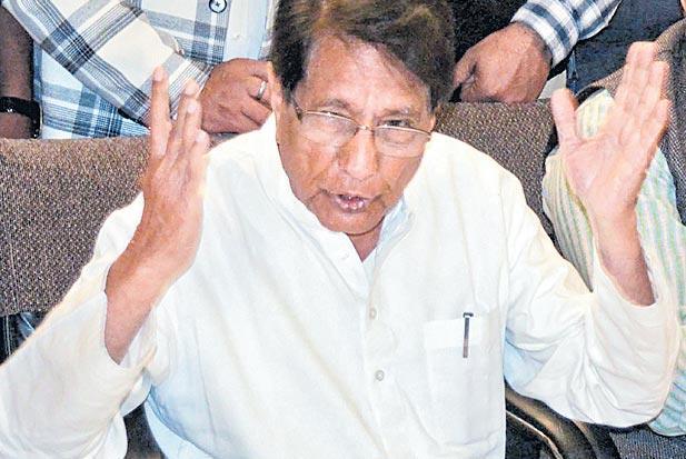 RLD leader Ajit Singh has commented on Prime Minister Narendra Modi and Smriti Irani. - Sakshi