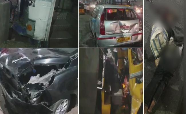 Man Dead And Some Injured In RTC Bus Accident At Secunderabad - Sakshi