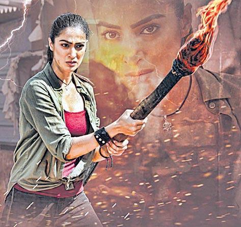 Lakshmi Rai new movie Jhansi look release - Sakshi