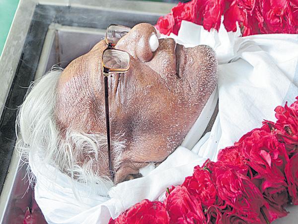 Communist leader Shivarami Reddy passed away - Sakshi