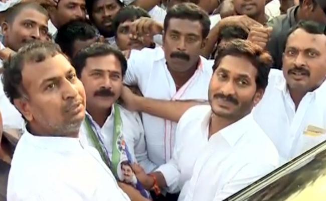 Minister Adinarayana Reddy Key Aid Joins YSRCP - Sakshi