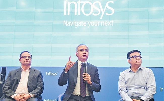 Infosys Q3 net profit falls 30 per cent to Rs 3610 crore - Sakshi