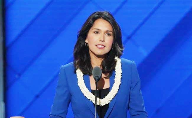 Tulsi Gabbard Says She Decided To Run For US Presidency - Sakshi