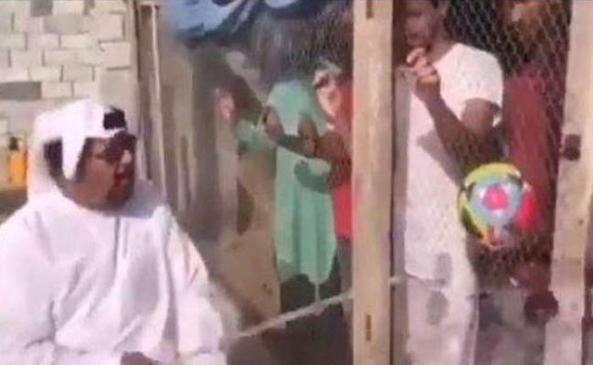 Man Arrested For Locking Up Team India Football Fans In UAE - Sakshi